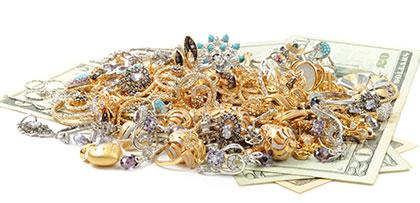 кредит под залог ювелирных изделий из золота, серебра и бытовой техники